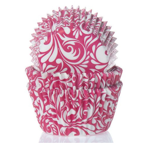 House of Marie Muffinsform Raspberry Red