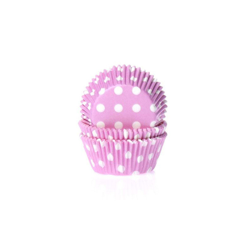 Muffinsform Polkadot Pink - House of Marie