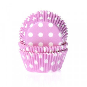 House of Marie Muffinsform Polkadot Pink