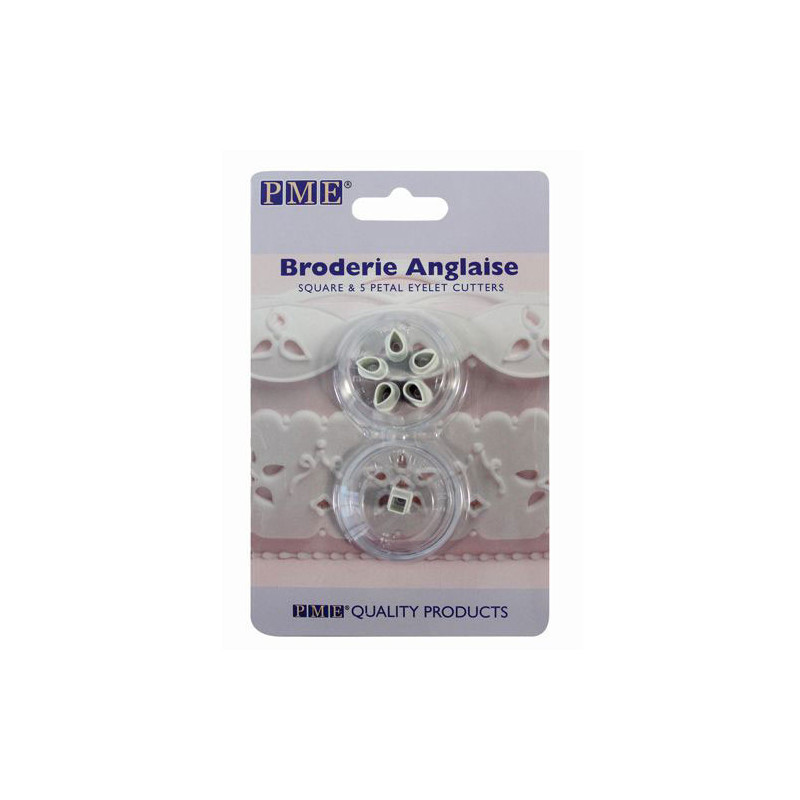 Utstickare Broderie Anglaise - PME