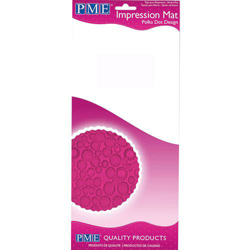 Impression Mat Polka Dot Design - PME
