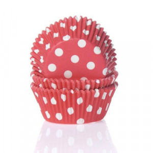 Muffinsform Polkadot Red - House of Marie
