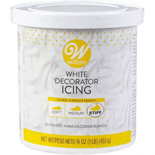 Wilton Decorating Icing White, 453 g