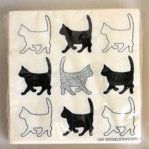 Spegels Servetter Katt