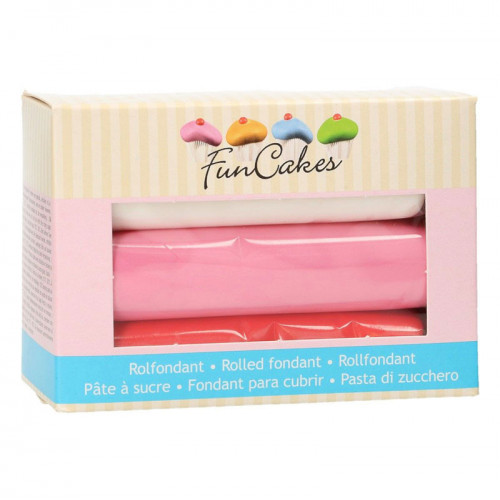 FunCakes Sockerpasta Multipack, Love