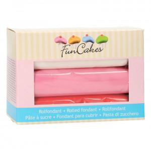 FunCakes Sockerpasta Multipack, Love