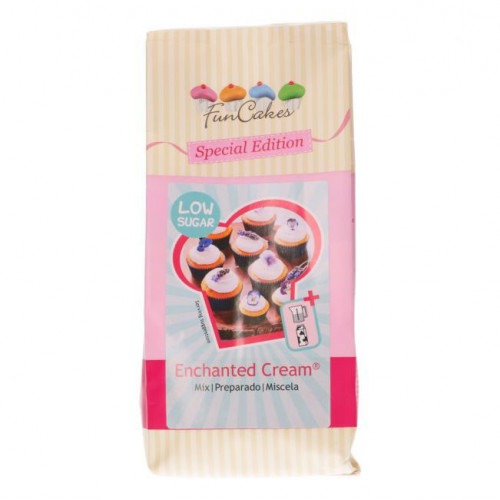 FunCakes Enchanted Cream Frosting Mix, mindre socker