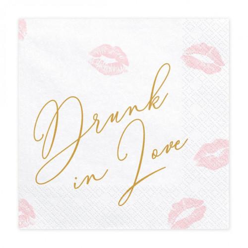 PartyDeco Servetter Drunk in love