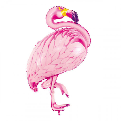 PartyDeco Folieballong, Flamingo