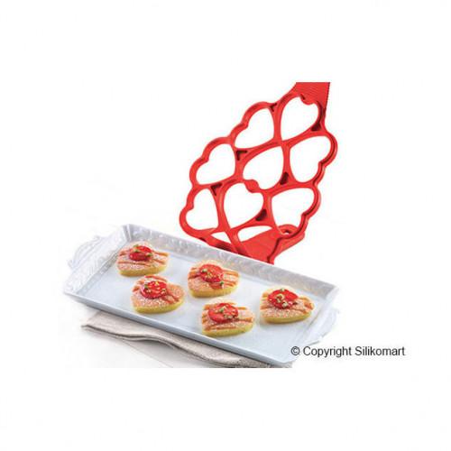Silikomart Plättform Happy Snack, Love