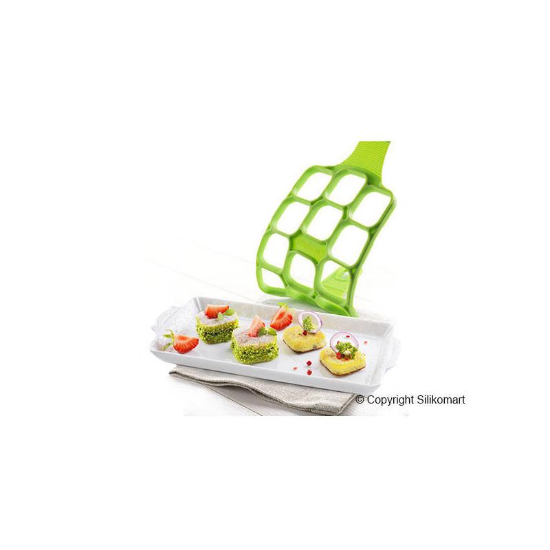 Silikomart Plättform Happy Snack, Square