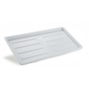 Bricka 44x23 cm vit. Passar till diskställ 241815.