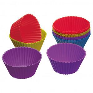Muffinsformar i silikon, 12 st - Kitchen Craft