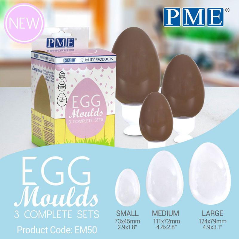 PME Chokladform Ägg, 3 st