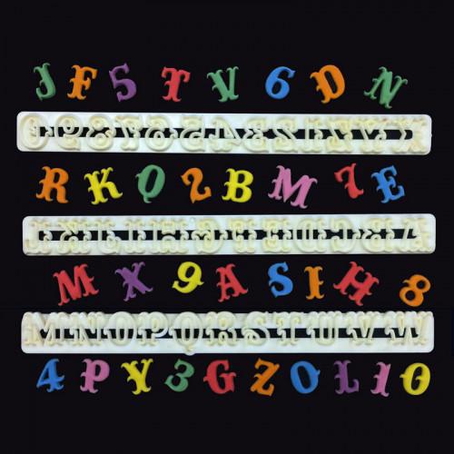 Fmm Utstickare Bokstäver och Siffror, Carnival