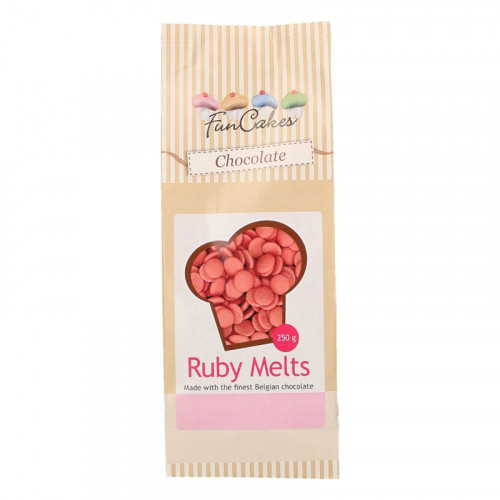 FunCakes Ruby Chocolate Melts 250 g