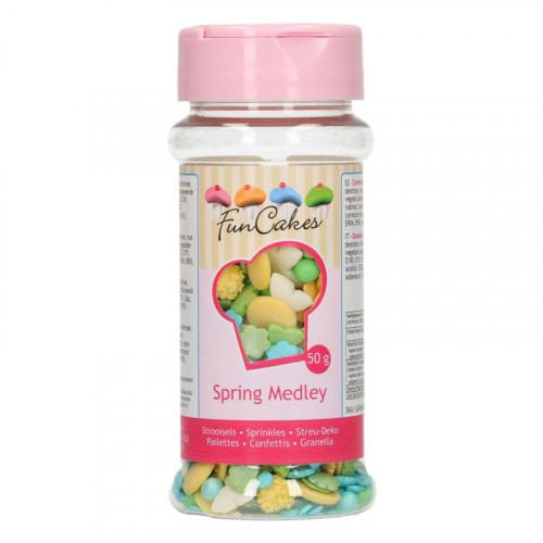 FunCakes Strössel Spring Medley, 50 g