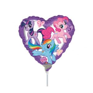 Folieballong My Little Pony, hjärta