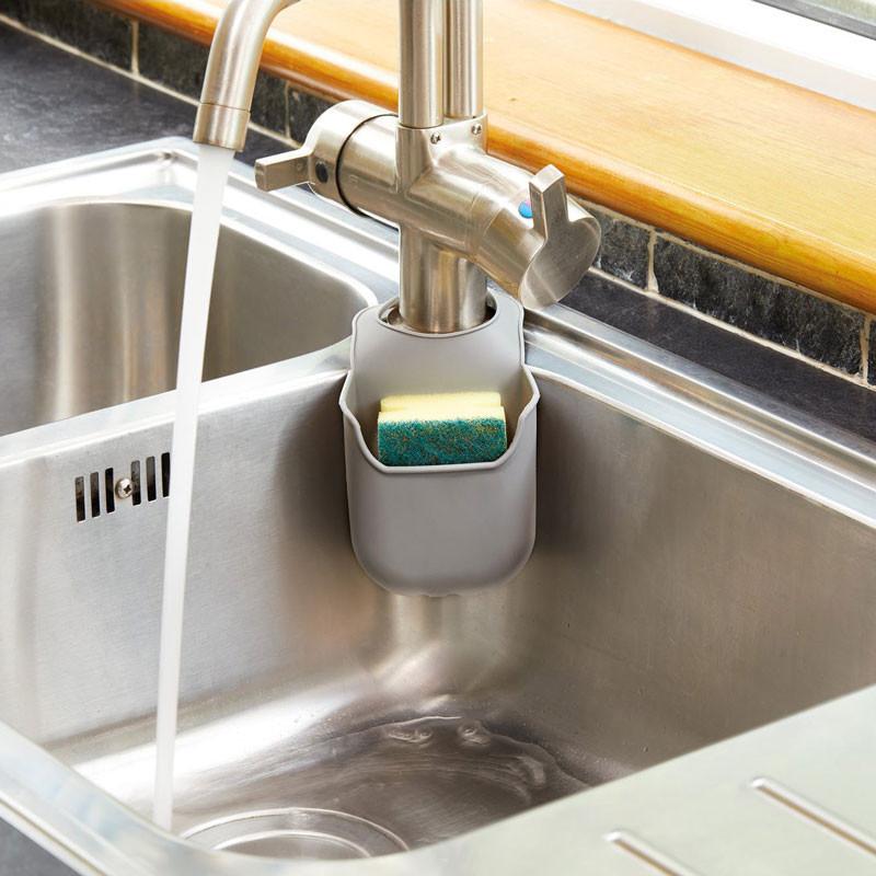 Kitchen Craft Disksvampshållare i silikon