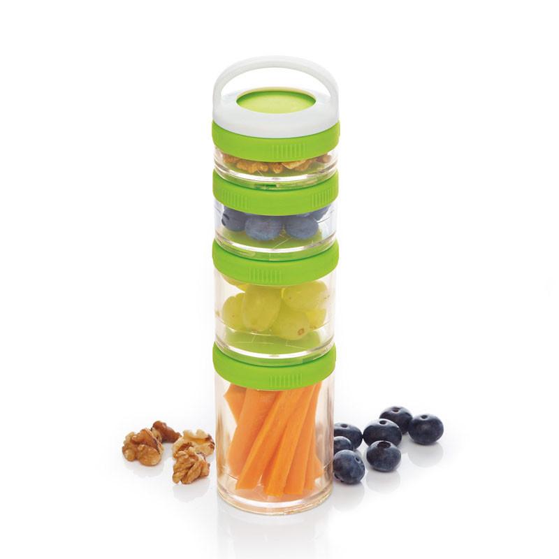 Portionsburkar Snacks & Mellanmål, 4 st - Kitchen Craft