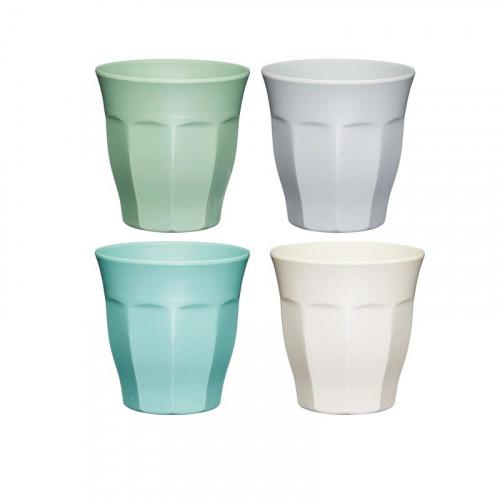 Colourworks Glas i Melamin, 4 st