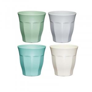 Glas i Melamin 4 st - Colourworks