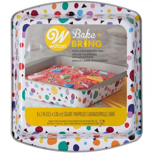 Bakform 20x20 cm - Wilton Bake + Bring