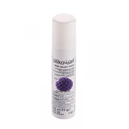 Sammetsspray Purple - Silikomart