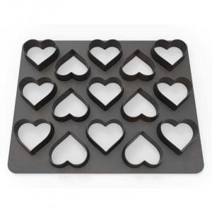 Polycutter Hjärtan - Dekofee