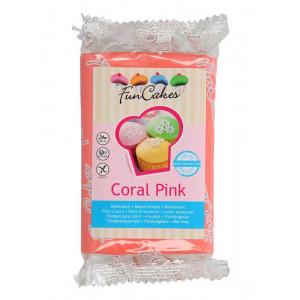 Sockerpasta Korallrosa - FunCakes