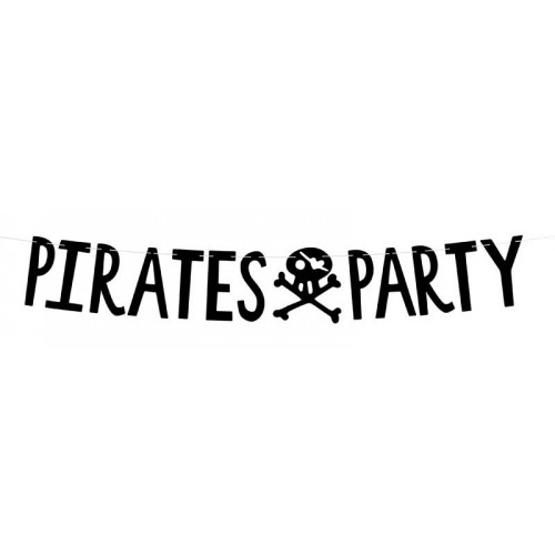 Pirates Party Girlang - PartyDeco