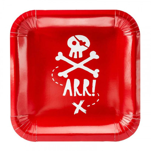 Papperstallrikar Pirates Party - PartyDeco