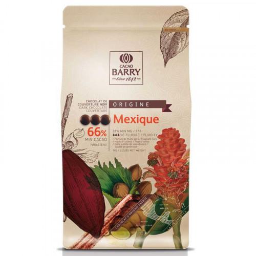 Mexique Chokladknappar 66% kakao - Couverturechoklad