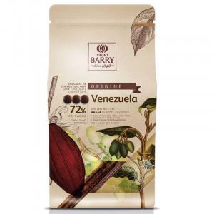 Venezuela Chokladknappar 72% kakao - Couverturechoklad