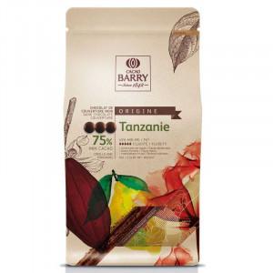 Tanzanie Chokladknappar 75% kakao - Couverturechoklad