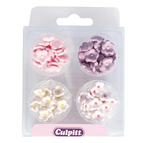 Sockerdekorationer Små Blommor - Culpitt