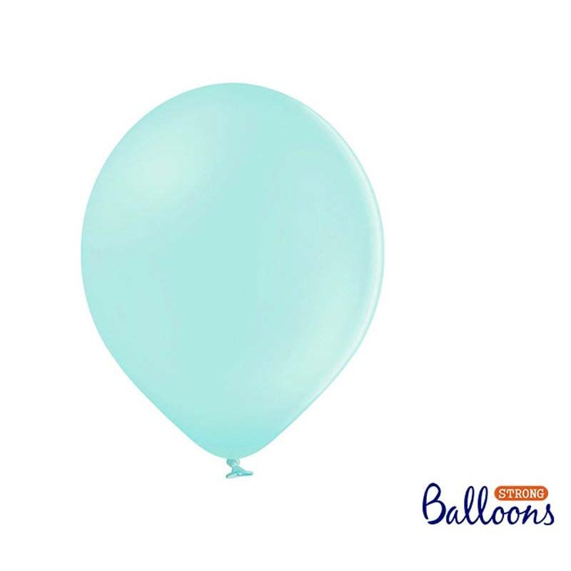 Ballonger Pastell Mintgrön, 30cm - PartyDeco
