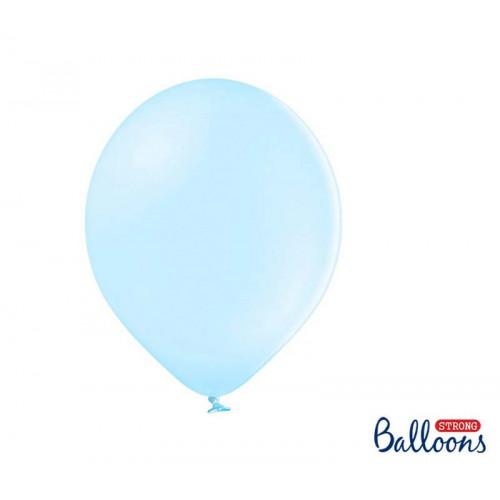 Ballonger Pastell Ljusblå, 30cm - PartyDeco
