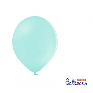 Ballonger Pastell Mintgrön, 27 cm, 50 st - PartyDeco