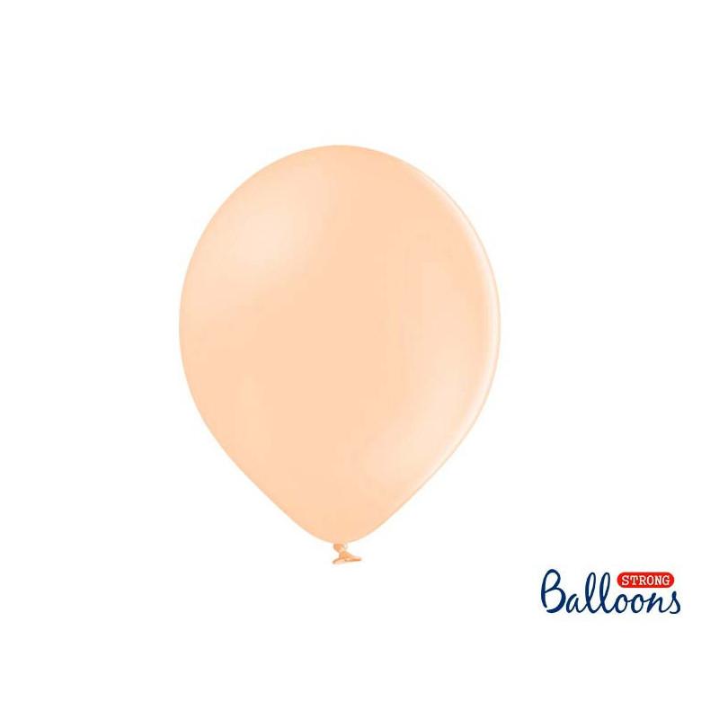 Ballonger Pastell Persika, 30cm, 50st - PartyDeco