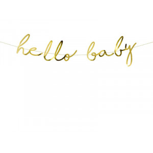 Girlang Little Star, Hello Baby - PartyDeco