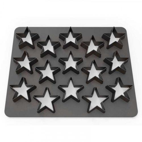 Polycutter Stjärnor - Dekofee