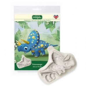 Silikonform Triceratops - Katy Sue