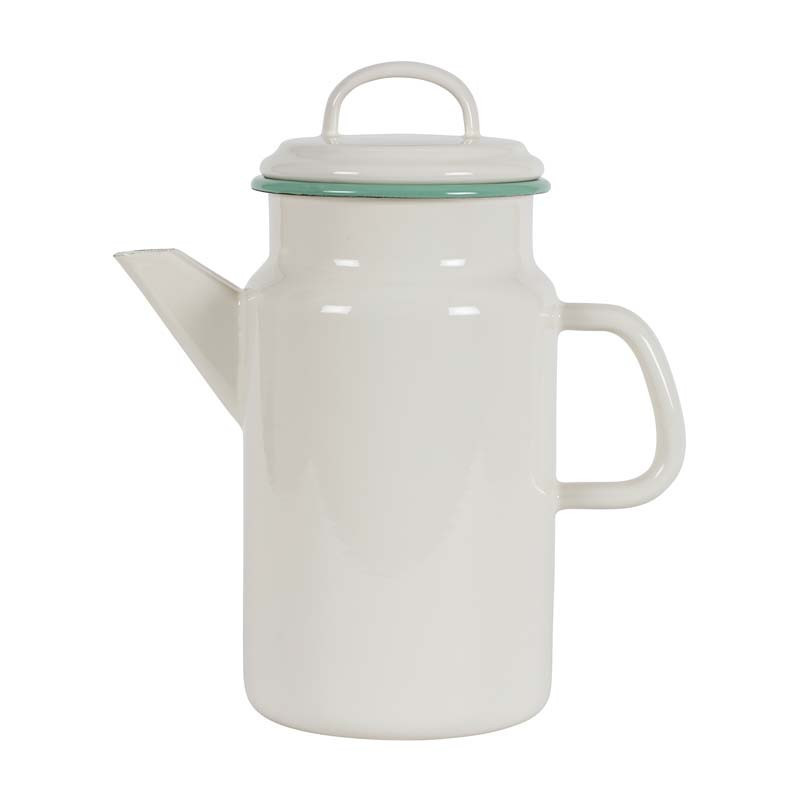 Teapot 2,0L, tekanna, cream lux - Kockums Jernverk