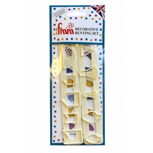 FMM Utstickare Decorative Bunting Set