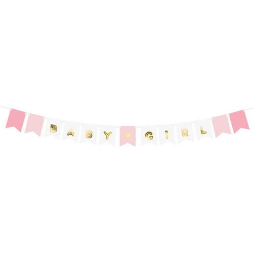 Banner Baby Girl - PartyDeco