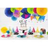 Girlang Fjärilar flera färger 3D - PartyDeco