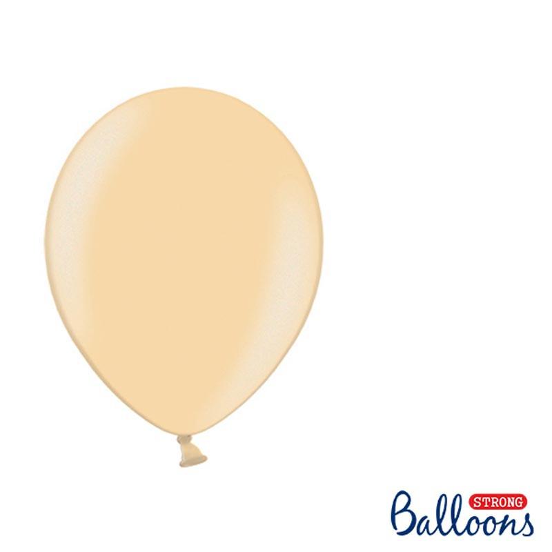 Ballonger Ljusorange 23 cm, 100-pack
