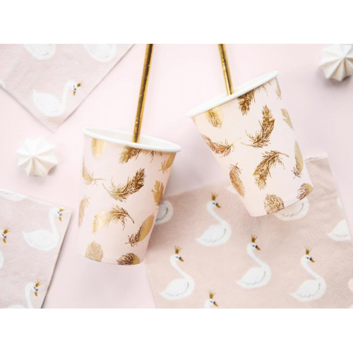 Pappersmuggar Lovely Swan - PartyDeco