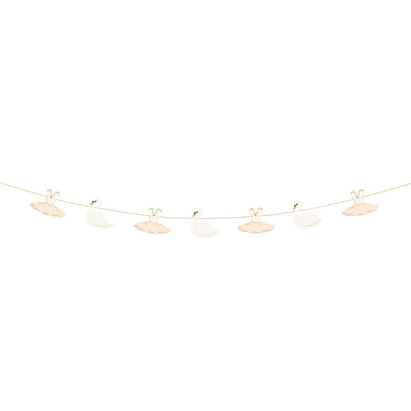 Girlang Lovely Swan - PartyDeco
